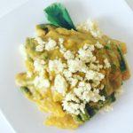 Wegetariańskie curry z batatami i jaglanką