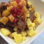 Pudding jaglany z karobem i ananasem