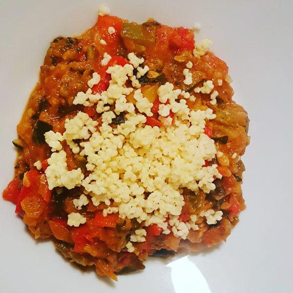 Hiszpański gulasz warzywny